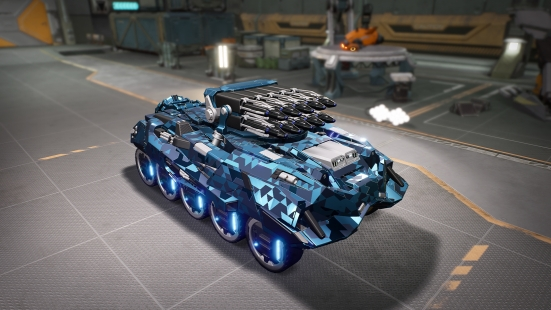 The PREMIUM camouflage for the FS-189 Saboteur tank.